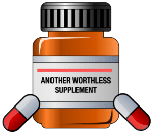 false supplement labeling
