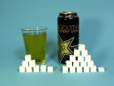 62 grams of sugar in Rockstar Energy Drink, calories